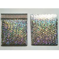 Eco Friendly VMPET Holographic Bubble Mailers 5X10 #00 Shock Resistance Manufactures