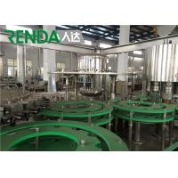 Automatic Drinking Mineral Water Filling Machine Electric Driven 2000 BPH Manufactures