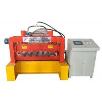 Steel Panel Floor Deck Roll Forming Machine Hydraulic Pressure 10-12MPa Manufactures