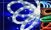 China LED Round Rope Light(2wires) on sale