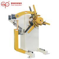 Manual Or Pneumatic Hydraulic Steel Decoiling Machine For Coil Material Feeding Manufactures