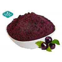 Red Purple Acai Berry Natural Herbal Extracts Nutrient Used As Food Ingredients Manufactures