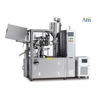 Quality Fully  Automatic Tube Filling And Sealing Machine Compact Design 80rpm Speed for sale