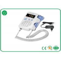 Light Weight Pocket Fetal Doppler High Sensitivity 2MHz Probe Manufactures