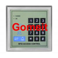 One Door EM Card Standalone RFID Access Control 500 Users Capacity  ABS Materials Manufactures