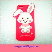 Amazing cartoon animal shape cell silicone phone case Manufactures