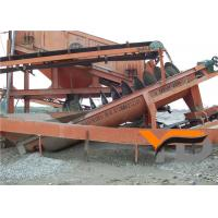 China Heavy Duty Screw Sand Washing Machine Dewatering Classifying Efficiency on sale