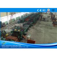 Low Carbon Steel ERW Pipe Mill Making Machine Rectangular Pipe Shape Manufactures