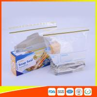 Airtight Transparent Ziplock Snack Bags For Food Packing Customized Size Manufactures