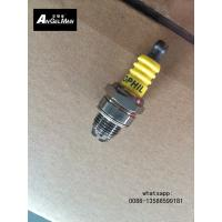 OEM Small Chainsaw Spark Plug With 2 Electrodes Yellow For Lawn Mower Manufactures