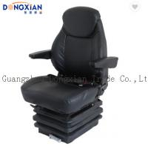 Kobelco Wheel Excavator Spare Parts Seat Adjustable PVC Seat with Headrest Armrest Manufactures