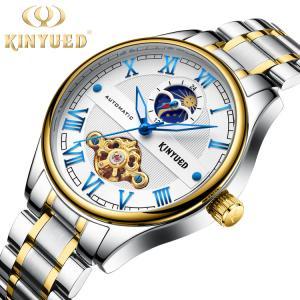 China Luxury Automatic Mechanical Watch Hardlex Glass Ladies Mechanical Watch on sale
