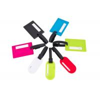 Personalised Luggage Labels , Travel Luggage Tags With Various Colors Manufactures
