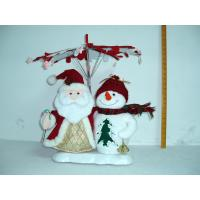 Santa Claus and Snowman Christmas Moving Musical Toddler Electrical Toys Battery Powered Manufactures