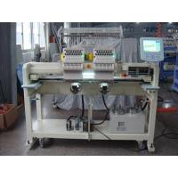 Towels / Cap Embroidery Machine , Industrial Embroidery Machines 850 RPM Speed Manufactures