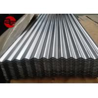 Soft / Full Hard Colour Coated Roofing Sheets With Zinc Coating 16 Gauge Manufactures