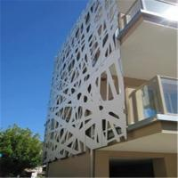 Color Painted Powder Coated Aluminum Perforated Wall Panels for cladding or partition Manufactures
