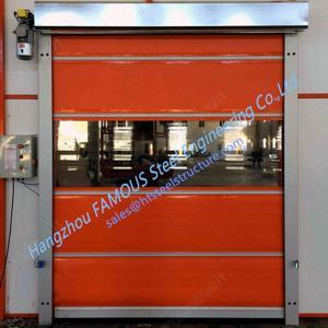Intelligent Automatic High Speed Fabric Door Flexible Industrial PVC Rolling Door Manufactures