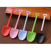 90mm and 120mm Disposable Ice cream scoops black and white creative spade spatula cake spoon Manufactures