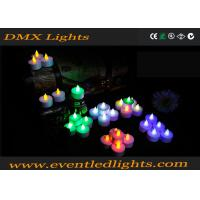 Color Changing Led Candles With Remote , Meeting Led Votive Candles Manufactures