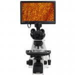 "Biological Compound Video Digital Microscope / 12.5"" Lab Trinocular Profesional Pantalla Lcd Microscope Manufactures"