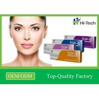 Anti Aging Cross Linked Hyaluronic Acid Injectable Facial Filler CE Certificates Manufactures