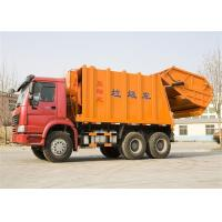 16m3 Garbage Collection Trucks With Double Vane Pump 6x4 Drive Type Manufactures