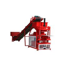 Hydraulic Earth Block Making Machine Fully Automatic Less Workers Involved