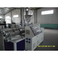 PERT Floor Heating Pipe Plastic Pipe Extrusion Line 380V 75KW 50HZ Manufactures