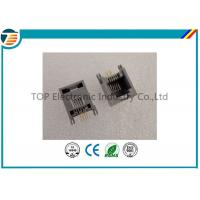 RJ45 Terminal Block Connectors 6P4C Gray with filter 1x1 Port Manufactures