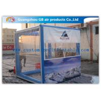 OEM Inflatable Transparent Tent With Removable Walls & Roof for Temporary Storage Shed Manufactures