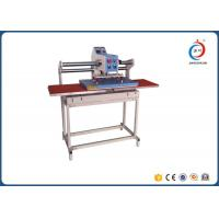Automatic Pneumatic T Shirt Printing Equipment Double Station Textile Manufactures