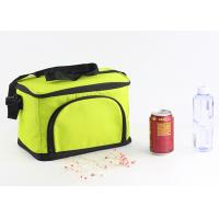 China Custom 600D Large Insulated Cooler Bags Zippered Closure Food Storage Foldable on sale