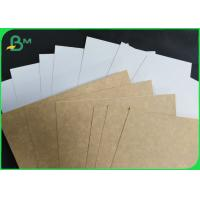 Stain Resistance FDA 300 GSM Coated kraft board for medicine packaging box Manufactures
