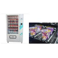 China LCD screen Cup Noodle Vending Machine , Automatic Selling Vending Kiosk on sale