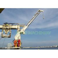 ABS Certificate Knuckle Boom Arm Jib Marine Crane , Carry Deck Offshore Crane Manufactures