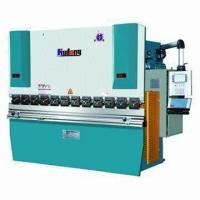 Hydraulic metal bending machine with 4000mm working bending length Manufactures