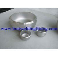 China Butt Weld Stainless Steel Pipe Cap on sale