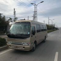 Good condition Cheap Price  used Toyota Coaster coach bus with diesel/petrol engine for sale for sale