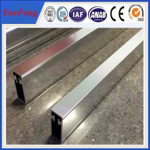 Hot! OEM polish shiny aluminum extrusion profile factory, 4 um polished aluminium tube Manufactures