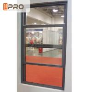 China Windproof Aluminum Sash Windows For Bathroom Environmental Durable Design on sale