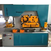 Duoble Cylinder Q35 Series Hydraulic Ironworker 90T Cut Round Bar Manufactures