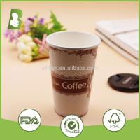 Fashional Style Top Quality Logo Printed Custom Disposable Paper Cup Manufactures