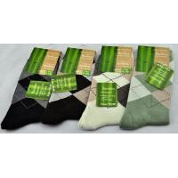 OEM comfortable hypoallergenic, anti moisture Bamboo Fiber Anti - slip Socks for men Manufactures