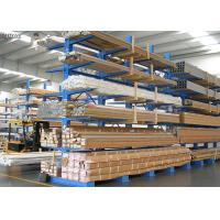 China Heavy Duty Metal Steel Structural Cantilever Rack Corrosion Protection Durable on sale