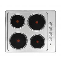 China Household Appliance Stainless Steel Electric Hob 4 Burner Solid Plate for Cooking on sale