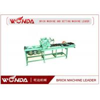 Soild Pneumatic Pushing Automatic Cutting Machine 0.7KW In Red Block Line Manufactures