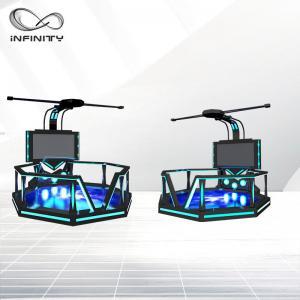 China VR Shooting Game Virtual Reality Machine Skiing Simulator For Shopping Mall on sale