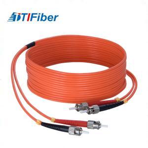 China Durable Fiber Optic Patch Cables ST-ST-MM-OM3 Simplex Duplex 1~144 Multi Fibers on sale