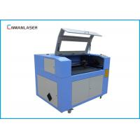 CO2 Cnc Laser Cutting Machine 6090 With DSP Control Steeper Motor Glass Tube Manufactures